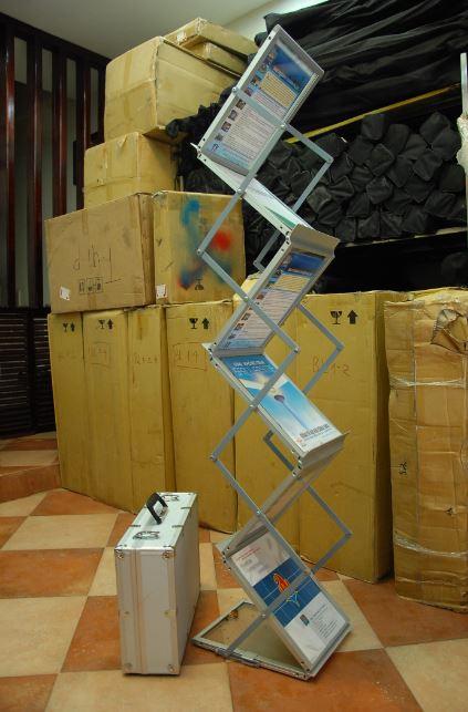 Giá để tài liệu Nhôm cao cấp 6 tầng