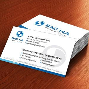100 hộp In card visit, in danh thiếp, in name card