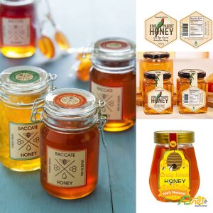 Tem dán hũ mật ong