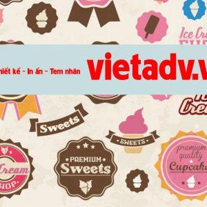 Vietadv,vn chuyên thiết kế in ấn tem lấy trong ngày