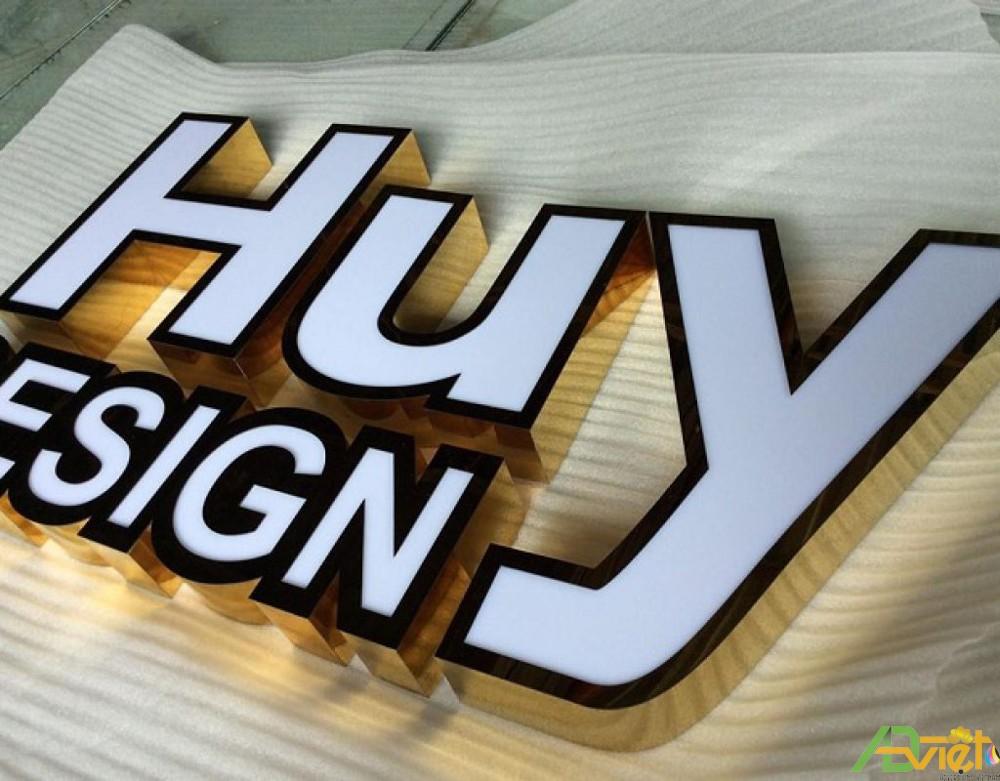 Làm logo chữ nổi inox tại Đồng Nai