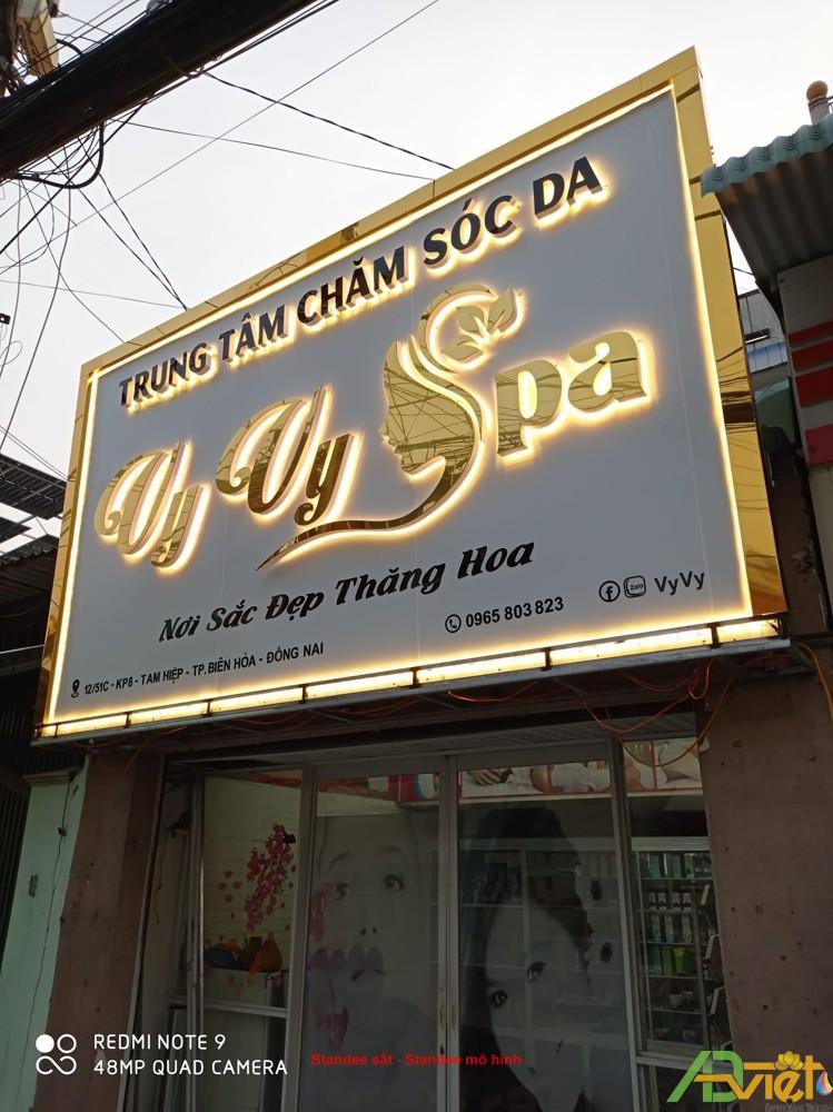 Chữ nổi Inox, Mica, Đồng, Alu đẹp, giá rẻ